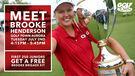 Meet & Greet with Brooke Henderson at Golf Town Aurora!