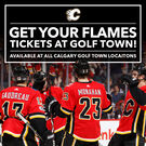 Calgary Flames Tickets - On Sale Now at all Golf Town Calgary Locations