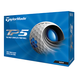 TAYLORMADE: TP5 Golf Balls - White