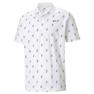 PUMA: Men's MATTR Moving Day Short Sleeve Polo